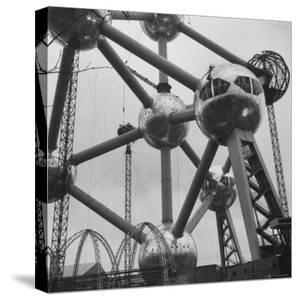 Atomium, Symbol of Brussels World's Fair by Michael Rougier