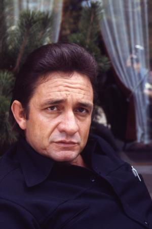 August 1969: Country and Western Singer Johnny Cash, Nashville, Tennessee