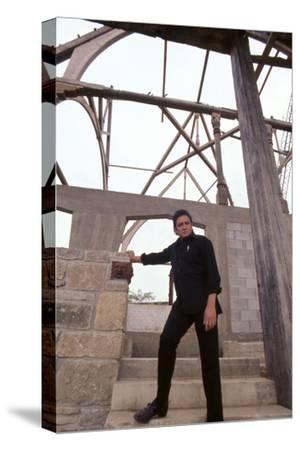 August 1969: Country Singer Johnny Cash, Nashville, Tennessee