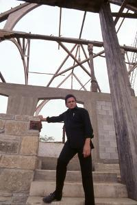 August 1969: Country Singer Johnny Cash, Nashville, Tennessee by Michael Rougier