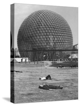 Buckminster Fuller's Geodesic Dome for Us Pavilion at Expo 67