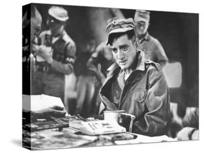John Ploch, One of the Returned Americans, During Korean War Prisoner Exchange at Freedom Village