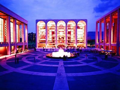 Newly Completed Lincoln Center