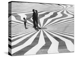 Patterns at Pavilion Terrace at Fair in Montreal by Michael Rougier