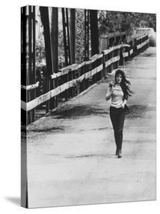 Song Writer Singer Bobbie Gentry Crossing Tallahatchie Bridge by Michael Rougier