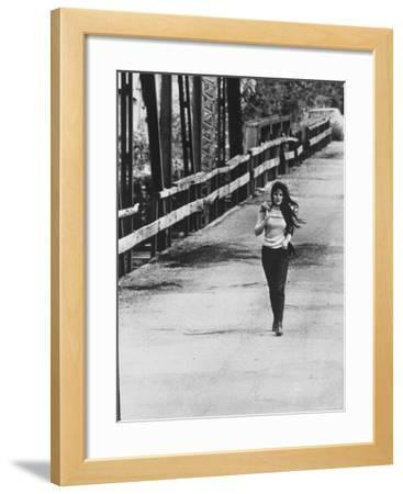 Song Writer Singer Bobbie Gentry Crossing Tallahatchie Bridge
