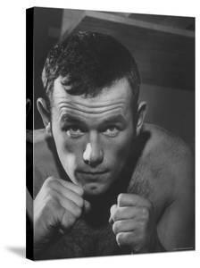 Swedish Heavyweight Ingemar Johansson by Michael Rougier