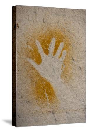 Aboriginal Hand Painting, Carnarvon Gorge, Queensland, Australia, Pacific