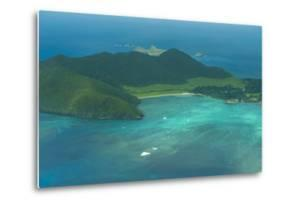 Aerial of View Lord Howe Island, UNESCO World Heritage Site, Australia, Tasman Sea, Pacific by Michael Runkel