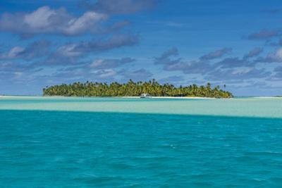 Aitutaki lagoon, Rarotonga and the Cook Islands, South Pacific, Pacific