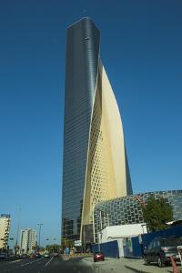 Al Hamra tower in Kuwait City, Kuwait, Middle East by Michael Runkel