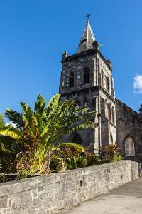 Anglican Church in Roseau Capital of Dominica, West Indies, Caribbean, Central America by Michael Runkel