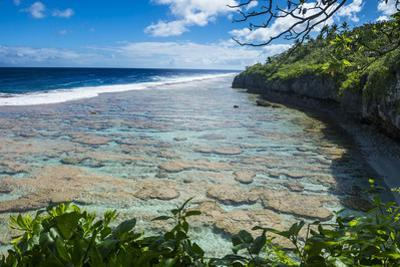 Beautiful low tide pools, Niue, South Pacific, Pacific