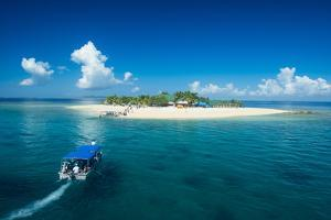 Beautiful South Sea island, Mamanuca Islands, Fiji, South Pacific by Michael Runkel
