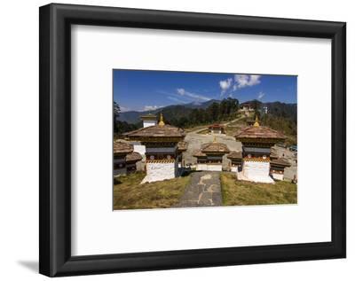 Buddhist Religious Stupas, Dochula, Bhutan