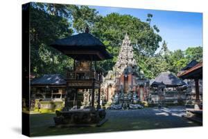 Buddhist Temple in the Monkey Forest, Ubud, Bali, Indonesia,Southeast Asia, Asia by Michael Runkel