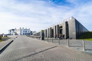 Casueway Museum, Giants Causeway, Co. Antrim, Ulster, Northern Ireland, United Kingdom by Michael Runkel