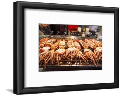 Cooked Squid, Shilin Night Market, Taipei, Taiwan, Asia