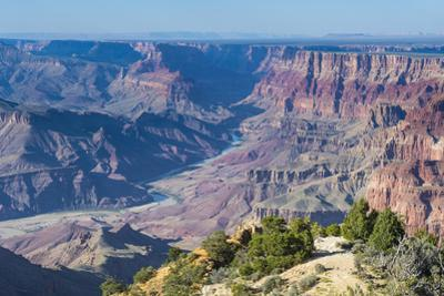 Desert View Point over the Grand Canyonarizona, United States of America, North America by Michael Runkel
