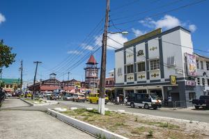 Downtown, Georgetown, Guyana, South America by Michael Runkel