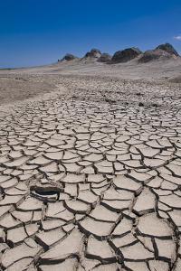 Drying Mud Stream Originating from a Mud Volcano, Qobustan, Azerbaijan by Michael Runkel
