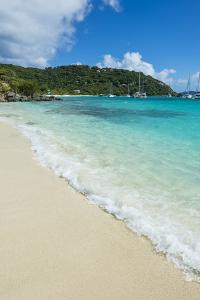 Famous White Bay, Jost Van Dyke, British Virgin Islands, West Indies, Caribbean, Central America by Michael Runkel