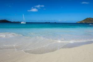 Flamand Beach, St. Barth (Saint Barthelemy), Lesser Antilles, West Indies, Caribbean, Central Ameri by Michael Runkel