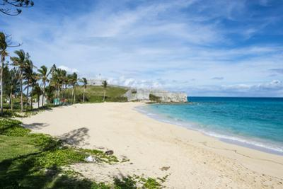 Fort St. Catherine and the White Sand Beach, the Historic Town of St George, Bermuda, North America by Michael Runkel