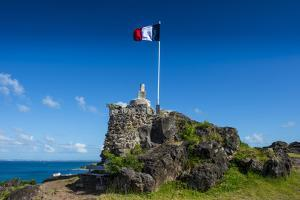 Fort St. Louis, St. Martin, French territory, West Indies, Caribbean, Central America by Michael Runkel