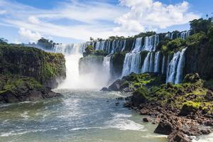 Foz De Iguazu, Largest Waterfalls, Iguazu National Park by Michael Runkel