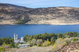 Glenveagh Castle on Lake Lough Beagh in the Glenveagh National Park by Michael Runkel
