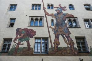Goliath House, Regensburg, Bavaria, Germany by Michael Runkel