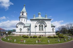 Hakodate Russian Orthodox Church, Motomachi district, Hakodate, Hokkaido, Japan, Asia by Michael Runkel