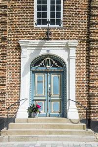 Historic Brick House Entrance in Ribe, Denmark's Oldest Surviving City, Jutland, Denmark by Michael Runkel