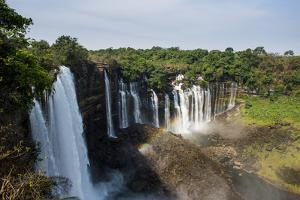 Kalandula Falls, Malanje province, Angola, Africa by Michael Runkel