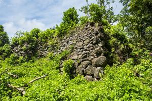 Lelu (Leluh) archaeological site, Kosrae, Federated States of Micronesia, South Pacific by Michael Runkel