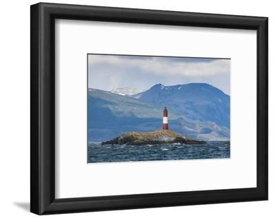 Lighthouse , the Beagle Channel, Ushuaia, Tierra Del Fuego, Argentina, South America