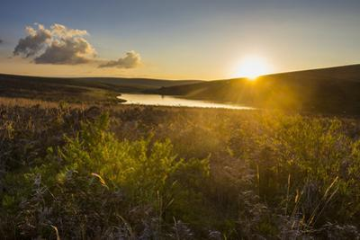 Little Lake at Sunset, Nyika National Park, Malawi, Africa by Michael Runkel