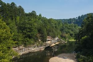 Little Missouri River, Ozark National Forest, Arkansas, United States of America, North America by Michael Runkel