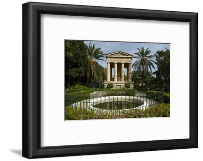 Lower Barrakka Gardens and the Alexander Ball Memorial, UNESCO World Heritage Site, Valetta, Malta