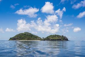Luxury resort on Mana Island, Mamanuca Islands, Fiji, South Pacific by Michael Runkel