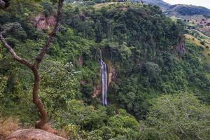 Manchewe Falls Near Livingstonia, Malawi, Africa by Michael Runkel