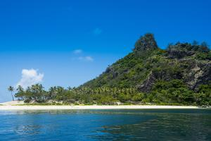 Monuriki (Cast Away Island), Mamanuca Islands, Fiji, South Pacific by Michael Runkel