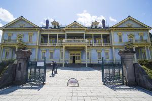 Old Hakodate Public Hall, Motomachi district, Hakodate, Hokkaido, Japan, Asia by Michael Runkel