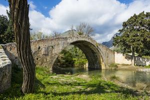 Old Roman Bridge, Preveli, Crete, Greek Islands, Greece, Europe by Michael Runkel