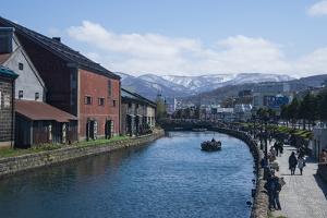 Otaru canal, Otaru, Hokkaido, Japan, Asia by Michael Runkel