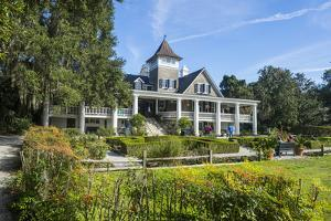 Plantation House in the Magnolia Plantation Outside Charleston, South Carolina, U.S.A. by Michael Runkel