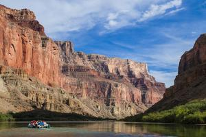Rafting Down the Colorado River, Grand Canyon, Arizona, United States of America, North America by Michael Runkel