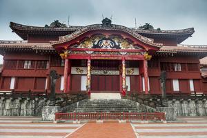 Shuri Castle, UNESCO World Heritage Site, Naha, Okinawa, Japan, Asia by Michael Runkel