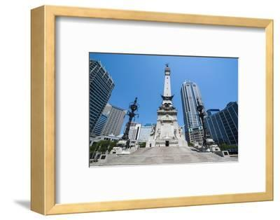 Soldiers' and Sailors' Monument, Indianapolis, Indiana, United States of America, North America